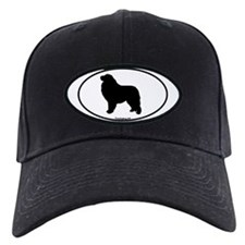 Great Pyrenees Euro Oval Baseball Hat