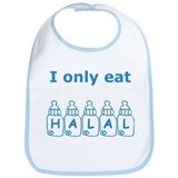 I only eat Halal Bib