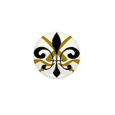 Fleur De Lis Pirate Mini Button (100 pack)