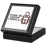 Scarab How I Roll Keepsake Box
