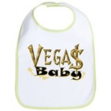 Vegas Baby Bib