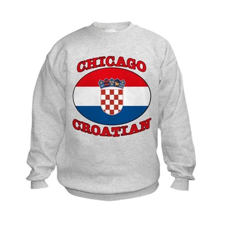 Chicago Croatian Kids Sweatshirt