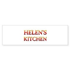 HELEN'S KITCHEN Bumper Sticker (10 pk)