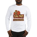 Miami Beach Tiki Bar - Long Sleeve T-Shirt