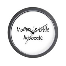 Mommy's Little Advocate Wall Clock