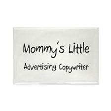 Mommy's Little Advertising Copywriter Rectangle Ma