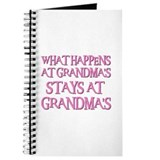 STAYS AT GRANDMA'S (pnk) Journal