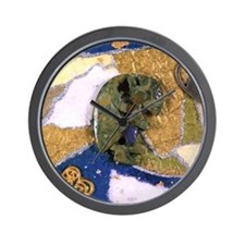 KoKopeli Prayers Wall Clock