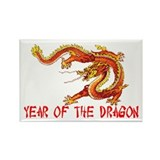 Year of the Dragon Rectangle Magnet