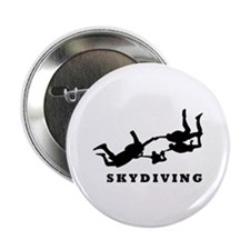 "skydiving 2.25"" Button (100 pack)"