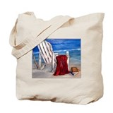 Unique Beach and ocean Tote Bag