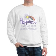HAPPINESS IS DAY W/ GRANDKIDS! Sweatshirt