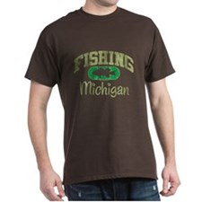 FISHING MICHIGAN T-Shirt