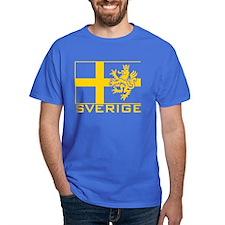 Sverige Flag T-Shirt
