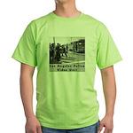 L.A. Police Video Unit Green T-Shirt