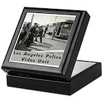 L.A. Police Video Unit Keepsake Box