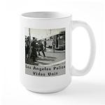L.A. Police Video Unit Large Mug