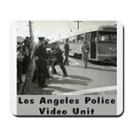 L.A. Police Video Unit Mousepad