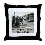 L.A. Police Video Unit Throw Pillow