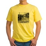 L.A. Police Video Unit Yellow T-Shirt