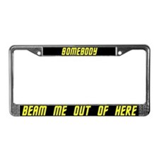 Unique Star trek license License Plate Frame