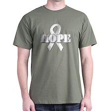 White Hope Ribbon T-Shirt