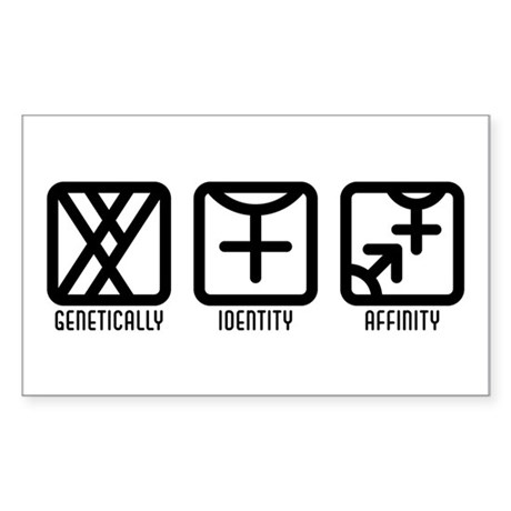 MaleFemale to Both Rectangle Sticker 10 pk)