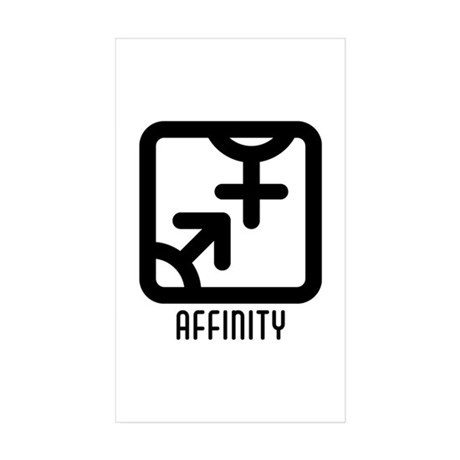 Affinity : Both Rectangle Sticker 50 pk)
