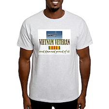 Proud Vietnam Vet USAF T-Shirt