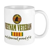 Proud Vietnam Vet USN Coffee Mug