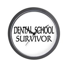 Dental School Graduation Wall Clock