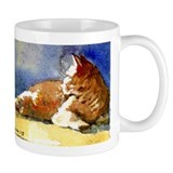 Sunlit Cat Mug
