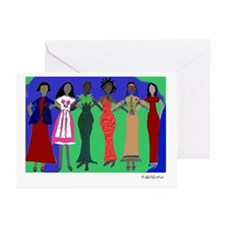 Women in Peace 1 Greeting Cards (Pk of 20)