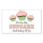 Having My Cupcake Eating It Too Sticker 10 Pack
