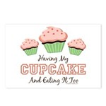Having My Cupcake Eating It Too Postcards 8 Pack