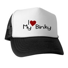 I Love My Binky (Pacifier) Trucker Hat