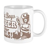 Sample Silly Boys Poker Mug