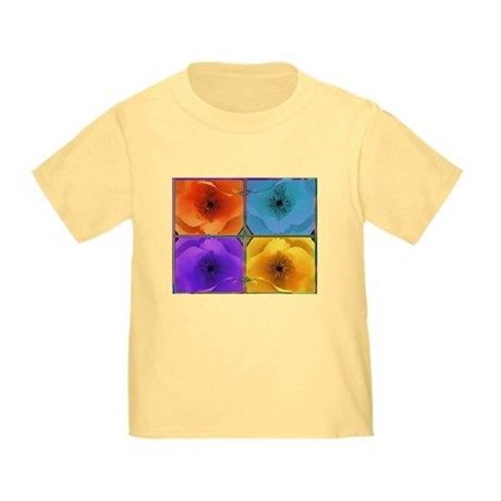 Four Poppies Toddler T-Shirt