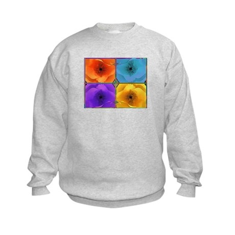 Four Poppies Kids Sweatshirt