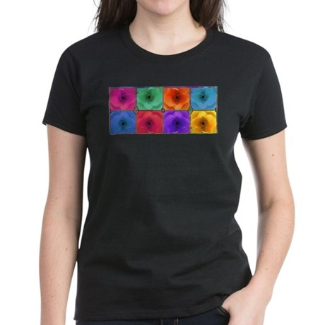Four Poppies Women's Dark T-Shirt