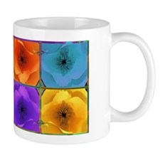 Four Poppies Mug