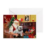 Santa's white EBD Greeting Cards (Pk of 20)