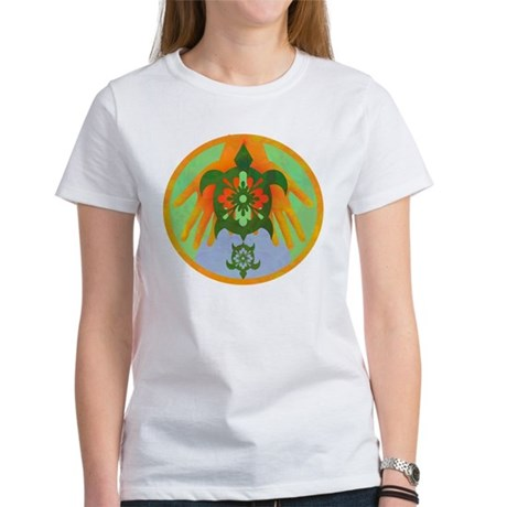 Turtle Hands Women's T-Shirt