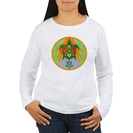 Turtle Hands Women's Long Sleeve T-Shirt