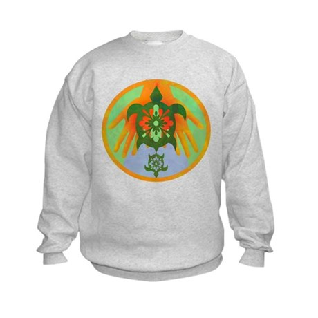 Turtle Hands Kids Sweatshirt