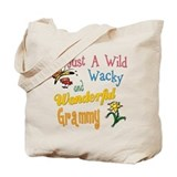 Wild Wacky Grammy Tote Bag