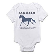 Old Time Traveling Infant Bodysuit