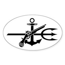 UDT-(1) Oval Decal