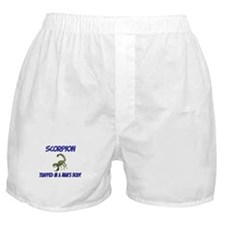 Scorpion Trapped In A Man's Body Boxer Shorts
