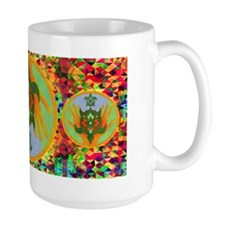 Turtle Hands Large Mug